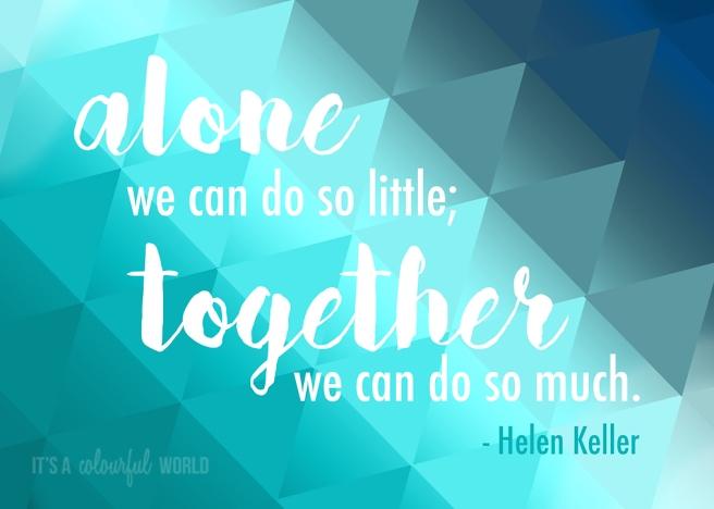 IACW - Helen Keller quote