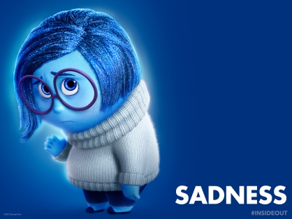 Sadness by Disney Pixar