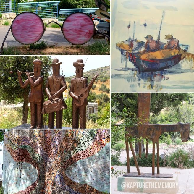 IACW - Ein Hod collage