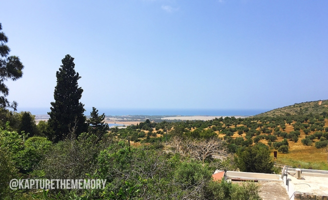 IACW - Ein Hod - view to Med